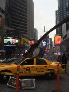 World of Warcraft: Warlods of Draenor ad in Time Square